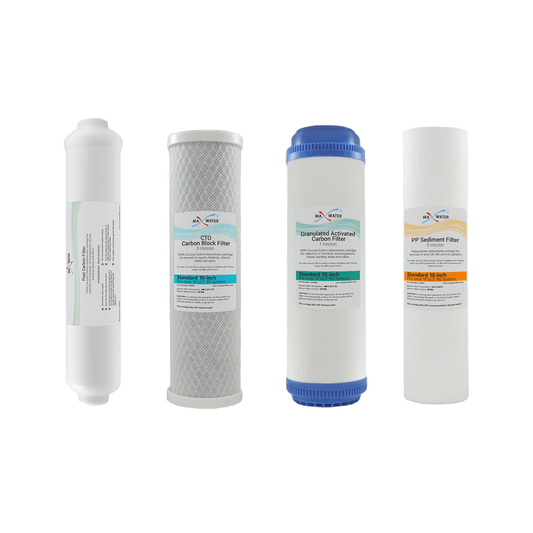 10 Standard Reverse Osmosis Replacement Filter Set