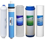5 Stage Reverse Osmosis FULL Replacement Water Filter Kit with 50 GPD Membrane