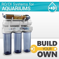 Build your aquarium / hydroponics RO DI reverse osmosis system