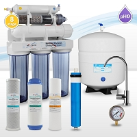 8 stage alkaline mineral infrared reverse osmosis water system