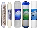 Reverse Osmosis  Carbon Block + GAC + Carbon Inline  + 5M Sediment + remineralization Filters Size 10