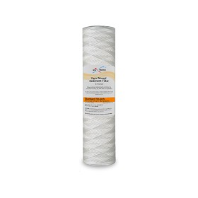 "Yarn wound water filter 5 Micron size 20""x4.5"""
