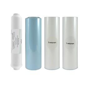 Reverse osmosis system filters set for 5 Stage RO system 101008
