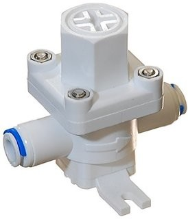 "Reverse Osmosis Feed Water high pressure control valve  3/8"" Tube OD quick"