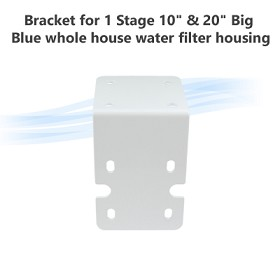 "Bracket for 1 Stage 10"" & 20"" Big Blue whole house water filter housing"