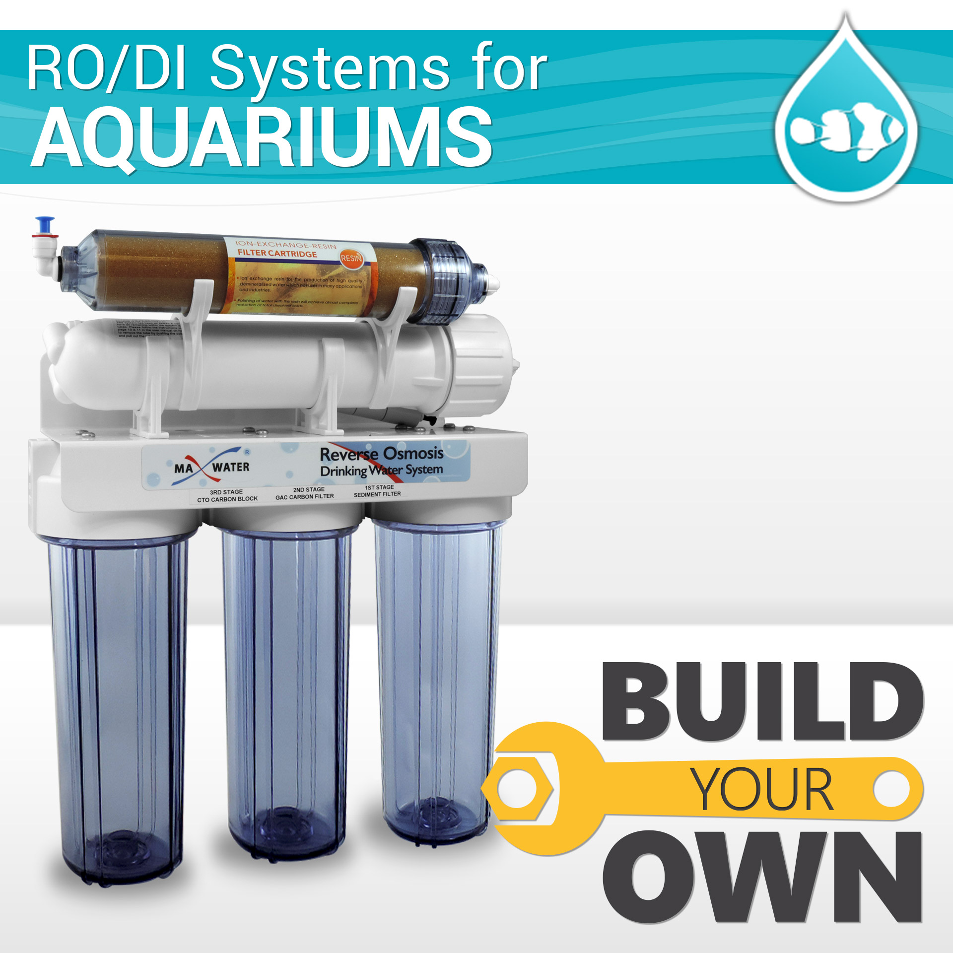 Build Your Aquarium Hydroponics Ro Di Reverse Osmosis System