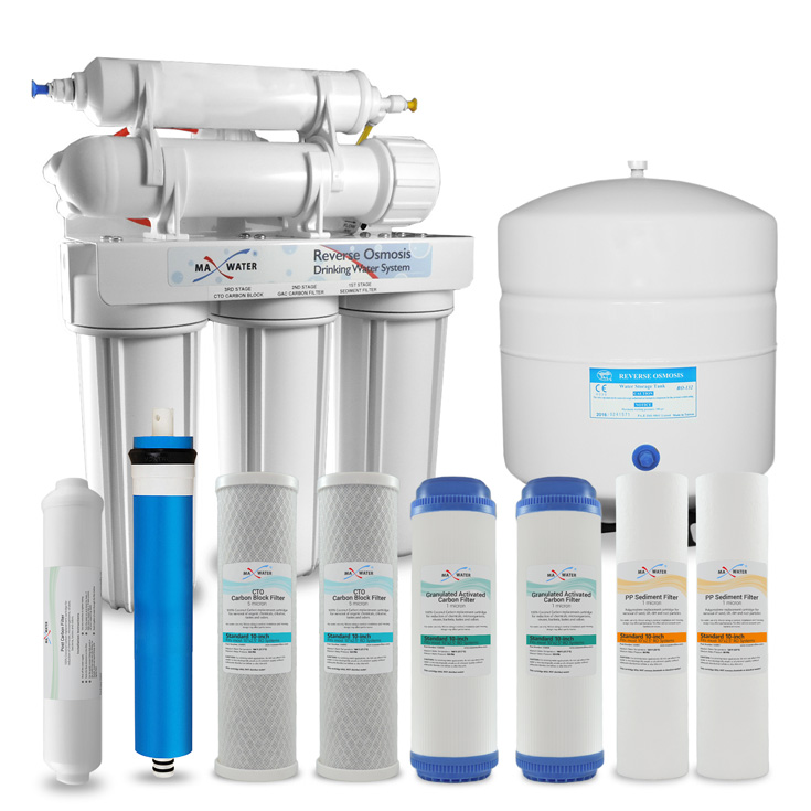 5 Stage Home Drinking Reverse Osmosis System Plus Extra