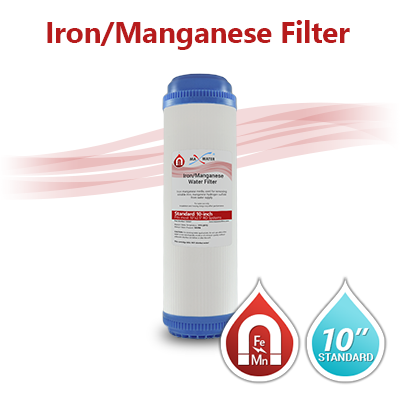 10 Quot X 2 5 Quot Iron Manganese Water Filter