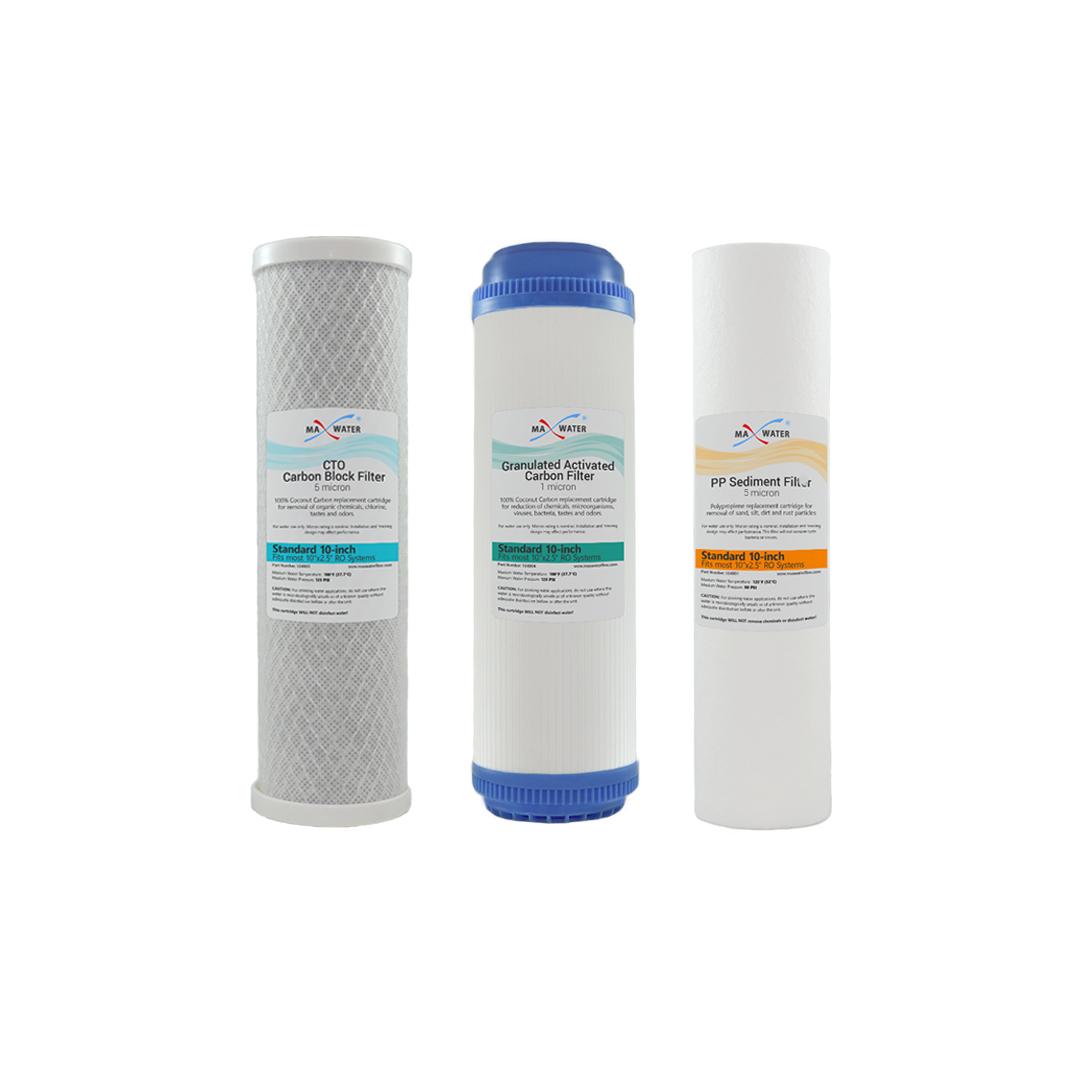 Whole House Water Sediment Filter Water Filter Set Cto Carbon Block Udf Gac 1m Sediment Filter