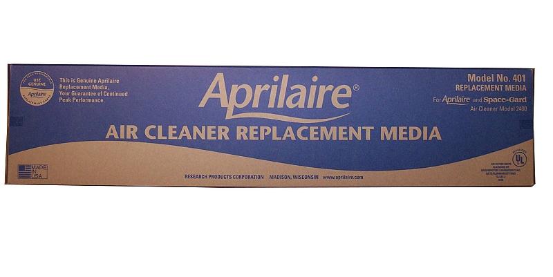 Aprilaire 401 Merv 10 Air Purifier Replacement Filter