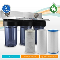 Whole House Water Filter 3 Stages 10