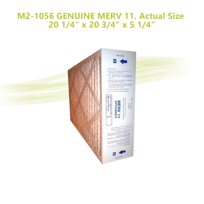 FIVE SEASONS Actual Size: 20-1//4 x 20-3//4 x 5-1//4 ELECTRO AIR M2-1056 GENUINE 20x20x5 AMANA MEDIA FILTERS Case of 3 Filters ELECTRO-AIR MERV 11 GOODMAN CARRIER