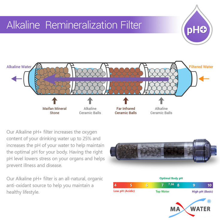 ro diagram alkaline filter