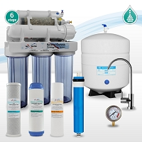 6 stage re-mineralization reverse osmosis water system