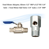 Feed Water Adapter, 60mm 1/2