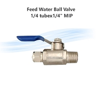 Feed Water Ball Valve 1/4 tubex1/4