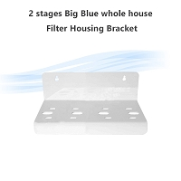 2 stages Big Blue whole house Filter Housing Bracket