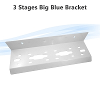 3 stages Big Blue whole house Filter Housing Bracket