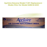 Aprilaire Genuine Model # 201 Replacement Media Filter for Model 2200 & 2250