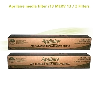 Aprilaire media filter 213 MERV 13 / 2 Filters