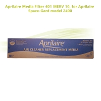 Aprilaire Media Filter 401 MERV 10, for Aprilaire Space-Gard model 2400