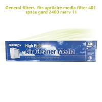 General filters,  fits aprilaire media filter 401 space gard 2400 merv 11