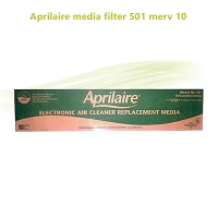 Aprilaire media filter 501 merv 10