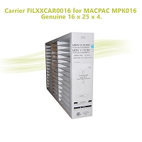 Carrier FILXXCAR0016 for MACPAC MPK016, Genuine 16 x 25 x 4.