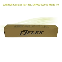 CARRIER Genuine Part No. EXPXXFIL0016  MERV 10