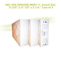 M0-1056 GENUINE MERV 11. Actual Size 15 3/8