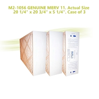 M2-1056 GENUINE MERV 11. Actual Size 20 1/4