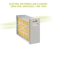 ELECTRO-AIR MEDIA AIR CLEANER – 2000 CFM,  EANC2025 / M8-1056