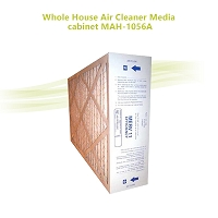 Whole House Air Cleaner Media cabinet MAH-1056A