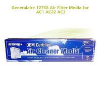 Generalaire 12758 Air Filter Media for AC1 AC22 AC3