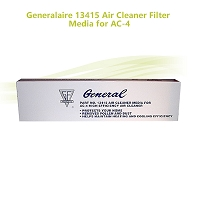 Generalaire 13415 Air Cleaner Filter Media for AC-4