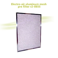 Electro-air Aluminum Mesh Pre Filter R2-0855 20 x 10-3/8 x 38 inch for 20 x 20