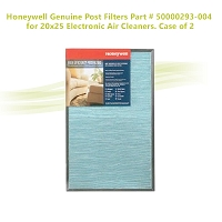 Honeywell Genuine Post Filters Part # 50000293-004 for 20x25 Electronic Air Cleaners. Case of 2