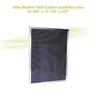 After Market 1620 Carbon postfilters Size: 15-3/8