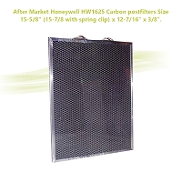 After Market Honeywell HW1625 Carbon postfilters Size: 15-5/8