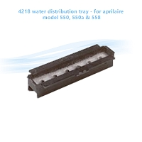 4218 water distribution tray - for aprilaire model 550, 550a & 558