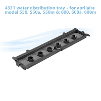 4331 water distribution tray - for aprilaire model 550, 550a, 550m  & 600, 600a, 600m