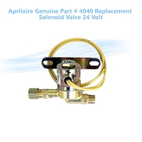 Aprilaire Solenoid valve Part # 4040 made by Generalaire  24 Volt (COPY)