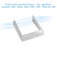 4236 scale control insert - for aprilaire models 560, 560a, 568, 700, 760, 760a & 768
