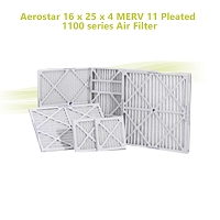 Aerostar 16 x 25 x 4 MERV 11 Pleated 1100 series Air Filter