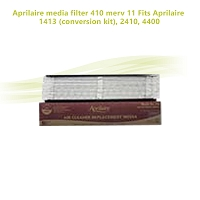 Aprilaire media filter 410 merv 11 Fits Aprilaire 1413 (conversion kit), 2410, 4400