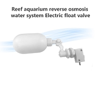 Reef aquarium reverse osmosis water system Electric float valve