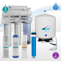 Max Water 5 stage  home reverse osmosis system ( as is) no return accepted