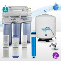 50GPD 5-stage Home Drinking Water Reverse Osmosis System