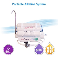5 stage portable alkaline reverse osmosis water filter system