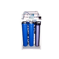 5 stage 800 GPD LCD commercial  reverse osmosis system with booster pump.